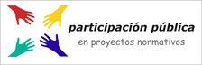 Logo de participación ciudadana en procesos normativo