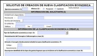 Nuevas aplicaciones presupuestarias ministerio de hacienda - Oficina virtual entidades locales ...