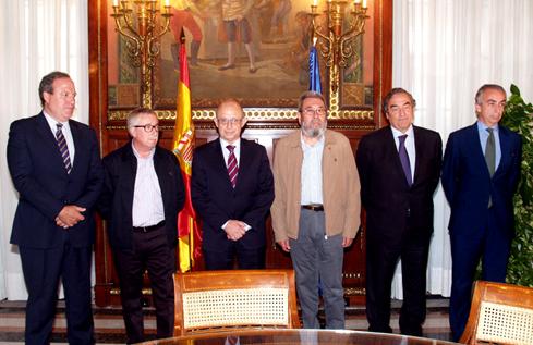 Reforma Fiscal: Montoro se reúne con agentes sociales, autónomos y ONG