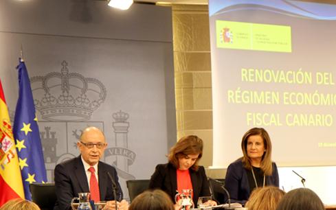 Aprobada la renovación del Régimen Económico Fiscal canario hasta 2020