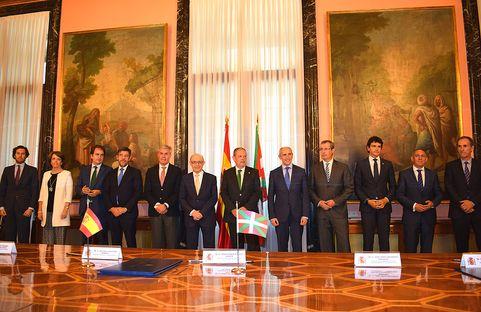 Estado y País Vasco acuerdan nueva Ley del Cupo que aclara y aporta estabilidad a las relaciones financieras de ambas...
