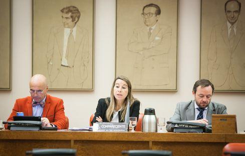 """Elena Collado destaca el refuerzo de la OEP y el """"acuerdo histórico"""" para consolidar el 90% de empleos públicos interinos"""