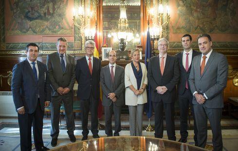 Reunión constitutiva del Grupo de Coordinación de los Delegados especiales del Estado en los Consorcios de Zona Franca