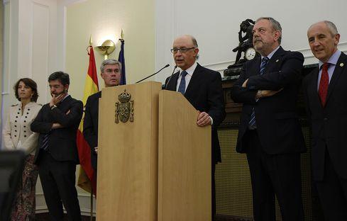 Montoro destaca que el acuerdo sobre el cupo vasco es bueno para el conjunto de España y su economía